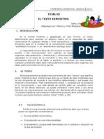 Material Informativo 002 Texto Expositivo