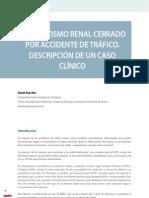cv_33_16-24_Traumatismo renal cerrado por accidente de tráfico. Descripción de un caso clínico