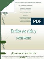 3.6 Estilos de Vida y Consumo; As Yedmi Anahi, CE Adrian, MQ Nelly, SM Jose Xavier