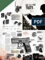 Cz 75 p 07 Duty Brochure