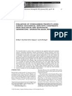 Evaluation of Hydrocarbon Prospect Using Surface Geochemical Data With Constraints From Geological and Geoohysical Observations