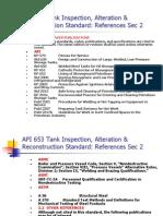 TDI32 Tank Inspection References API 653 Sec 2