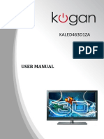 Kogan KALED463D1ZA User Manual
