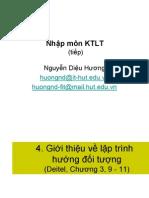 Student KTLT Chapter1 OOP No Case Study