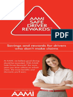 Safe Driver Rewards Flyer