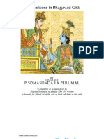 Examples in Bhagavad Gita