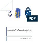 Computação científica - Numpy e Scipy
