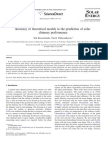 Accuracy of Theoretical Models in the Prediction of Solar Chimney Performance