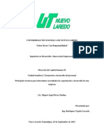 Principales técnicas para determinar necesidades de capacitación y desarrollo de una empresa