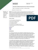 Cisneros-The Deconstructive and Reconstructive Faces of Social Construction