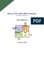 Generic ISO 14001 EMS Manual