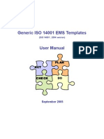 Generic ISO 14001 EMS Manual