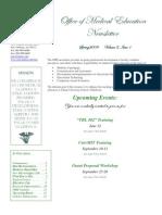 Spring 09 Newsletter