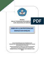 1 Modul 1 Kurikulum 2013 Dan Profesionalisasi Bk