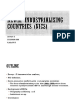Lecture 2 Newly Industrialising Countries