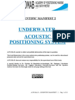 Paper1-UNDERWATER Acoustic Positioning System