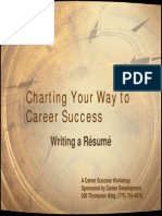 Resume Writing 2008 2009