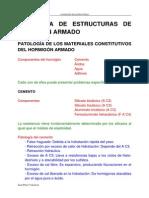 Patologias de Estructuras de Concreto Armado