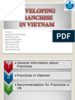 Franchise in Vietnam -Finished
