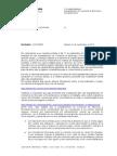 Carta del Banco de España desautorizando el cobro de comisiones de mantenimiento y administración en las cuentas utilizadas exclusivamente para el pago de la hipoteca