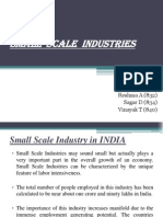 Small Scale Industry Presentation