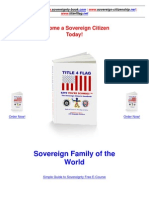 United States 1933 Bankruptcy - Sovereign Citizenship