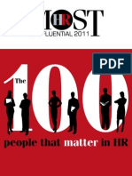 HR Most Influential Practitioners