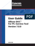 Allison DOC 7.0 User Guide