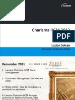 Noutati in Charisma HCM 2013