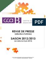 Ccab Revuedepresse Saison2012-2013 Complet