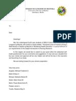 Letter Sa Bon (Di Final)