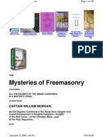 Mysteries of Freemasonry - Morgan