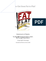 fat-to-flat
