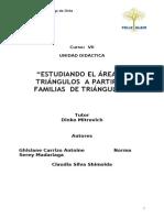 Estudiando El Area de Triangulos