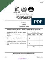 Spm Trial 2011 Physics p3 Perak