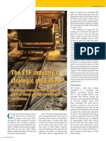 Gold - the ETF industry's strategic gold mine?