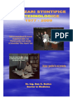 Realizari Stiintifice Si Tehnologice Dr.ing. Dan C. Badea