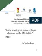 Ferrante Tecniche Di Monitoraggio e Valutazione Del Rischio Chimico 1