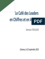 Le Café des Leaders en chiffres et en images