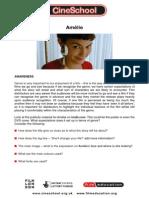 AMELIE/LE FABULEUX DESTIN D'AMÉLIE POULAIN -    Amelie Study Guide