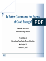 Is Better Governance the Enemy of good enough.pdf
