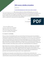 Guatemala, Acoso y Derribo a La Justicia