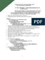 1-- PFHL 200-- Romans 8 & 12 Study Guide-- ETRS