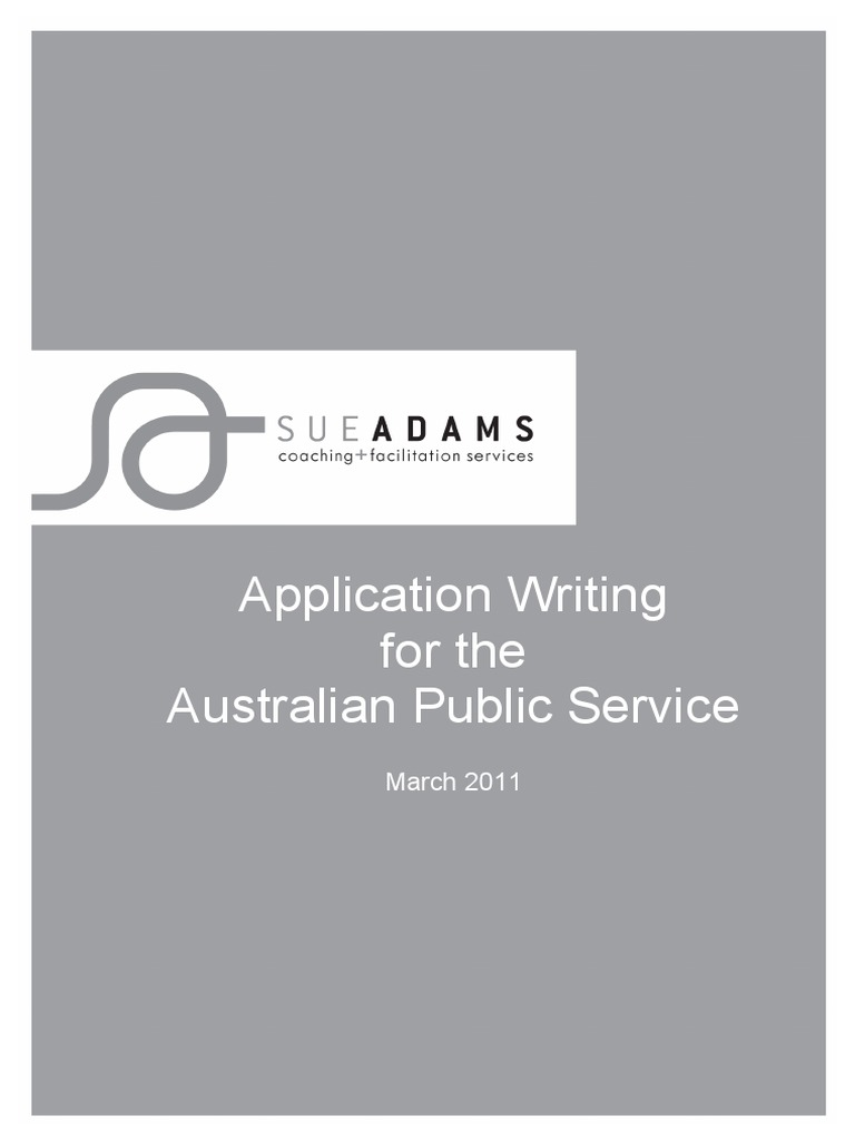 Application Writing For The Australian Public Service Ebook Resume