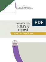 9. SINIF KİMYA DERSİ ÖĞRETİM PROGRAMI (Eski Program)