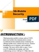 3G Mobile Security - Basics