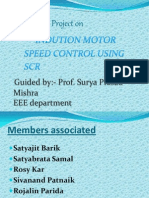 Induction Motor Speed Control Using Scr