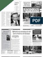Versión impresa del periódico El mexiquense  26 septiembre 2013