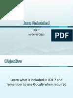 Java 7 feautures