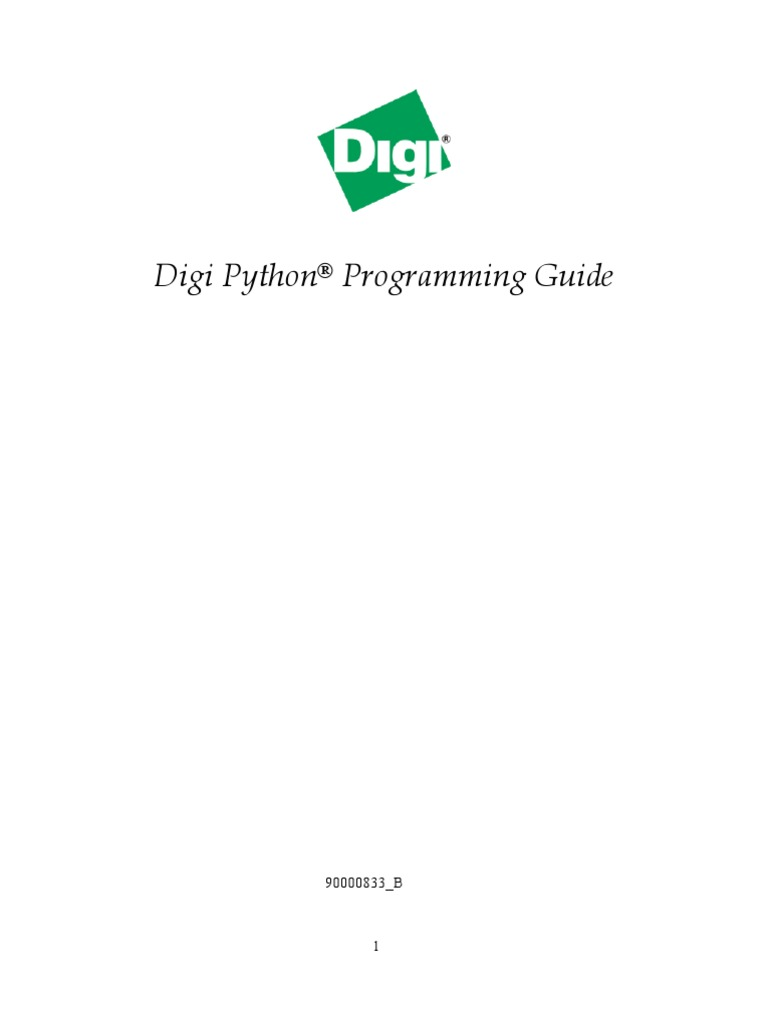 Python Digi | Network Socket | Python (Programming Language)
